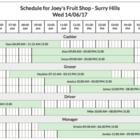 Deputy — Schedule Printing Improved