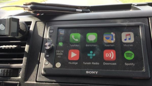 iOS op mijn dashboard