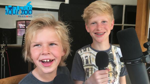2 jonge rappers met een übercoole versie van een kinderliedje in commercial