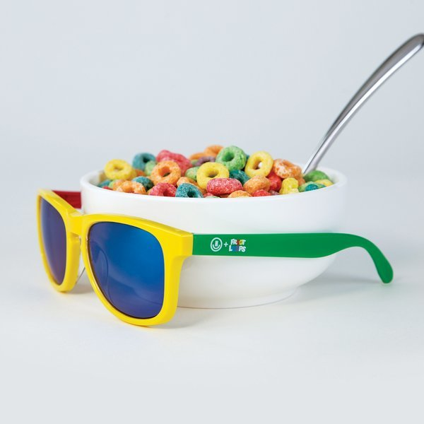 Would you want a pair of interchangeable Froot Loops shades? 😎