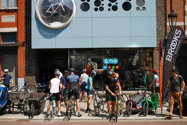 Photo by Frank van der Sman of Gino Carts & Bikes in Oostende, Belgium