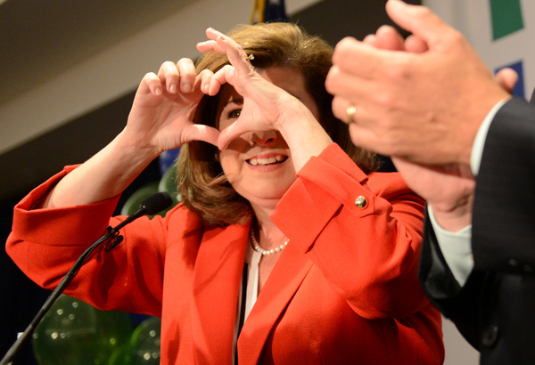 De Republikein Karen Handel won de zwaarbevochten verkiezing om een Congreszetel in Georgia (foto: Reuters)