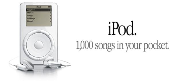"""1GB kapasiteli MP3 çalar değil; """"1.000 şarkı cebinizde"""""""