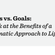 Habits vs Goals: A Look at the Benefits of a Systematic Approach to Life*