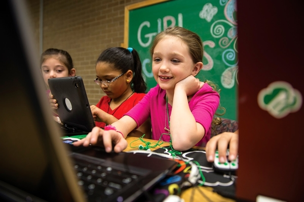 Girl Scouts has been rolling out more and more tech badges since 2011!