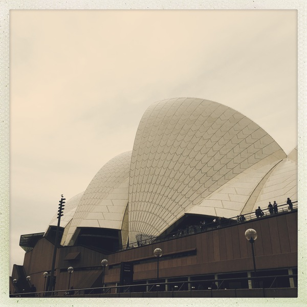 Impossible to go around Sydney without a trip to see the beautiful Opera House