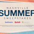 Nashville Summer Sweepstakes | Grand Ole Opry