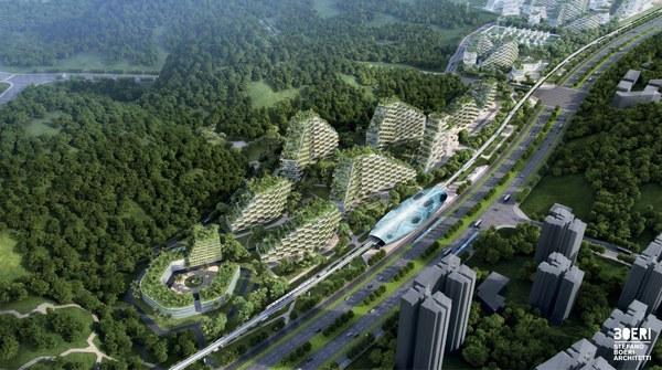 Liuzhou Forest City, de Chinese stad van de toekomst moet er tegen 2020 staan.