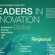Regional and global innovation leaders in 2017
