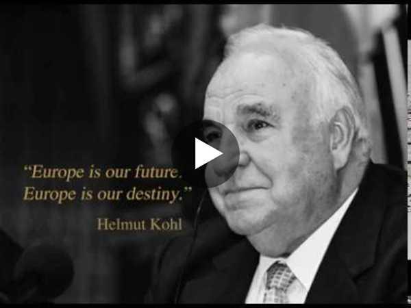 Helmut Kohl, a great European - YouTube