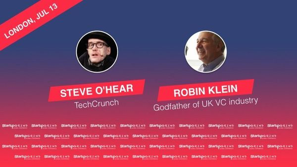 O'Hear vs Klein - upcoming fireside chat at Startup Grind London's Summer Party