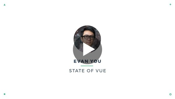 Evan You - State of Vue | VueConf 2017 - YouTube