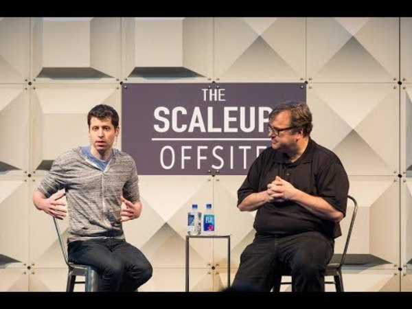 From Startup to Scaleup – Sam Altman and Reid Hoffman at The Scaleup OffsiteFrom Startup to Scaleup – Sam Altman and Reid Hoffman at The Scaleup Offsite – Y Combinator