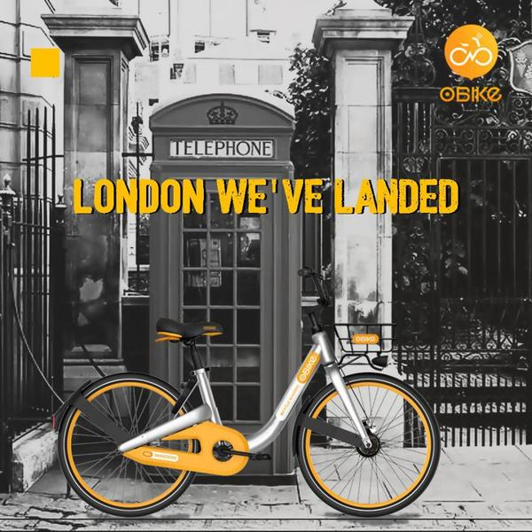 Dockless bike-share scheme oBike lands in London