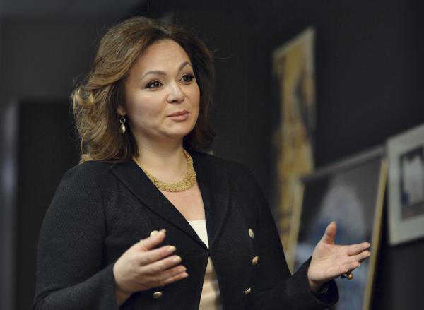 De Russische advocate Natalia Veselnitskaya (foto: Reuters)