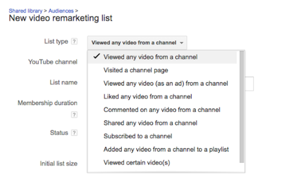 Remarket to your YouTube video viewers on Google SERP