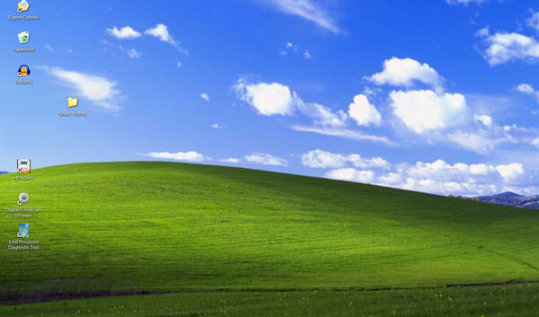 The Story Behind the World's Most Famous Desktop Background