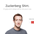 Zuckerberg Shirt
