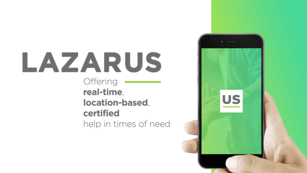 SUPPORT THE CAUSE ON KICKSTARTER: Lazarus, a mobile- and text-based heroin fighting app