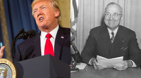 Today in 1948: Truman racially integrates the military. In 2017: Trump bars trans people from serving. - Vox