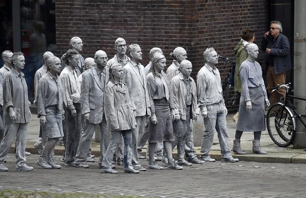 Scène uit de populaire TV-serie The Walking Dead (foto: Reuters)