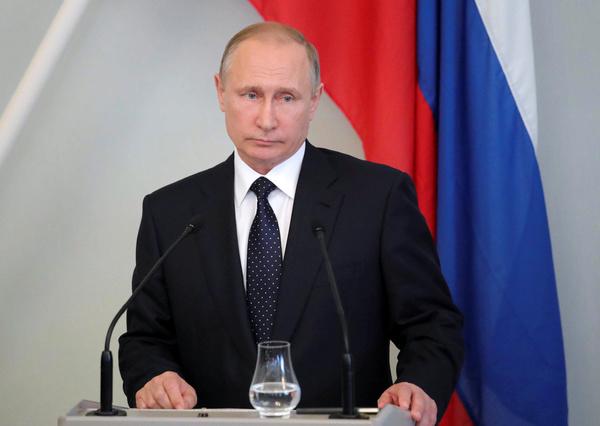 De Russische president Poetin (foto: Reuters)