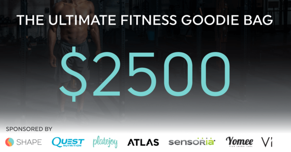 The Ultimate Fitness Giveaway • ShapeScale — BlogThe Ultimate Fitness Giveaway • ShapeScale — Blog