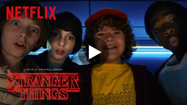 Stranger Things Season 2 Trailer -- So good.