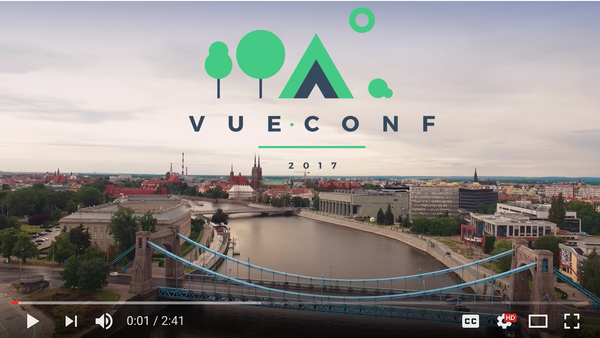 Vue js Feed - Issue #53: Summary video of VueConf is out