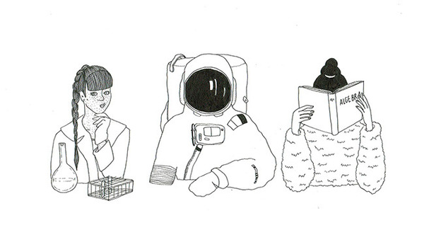 Illustratie door Aurike Quintelier, mede-oprichter van Fille Folle