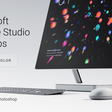 Microsoft Surface Studio Mockups