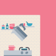 CSS coffee animation