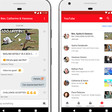 YouTube adds an in-app messaging feature for sharing and chatting about videos