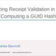 Finalizing Receipt Validation In Swift - Computing A GUID Hash