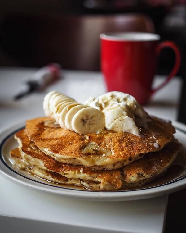 """""""Banana Pancakes"""" by Rudy & Hudson (@hungryinla)"""