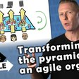 Transforming the pyramid to an agile organization - YouTube