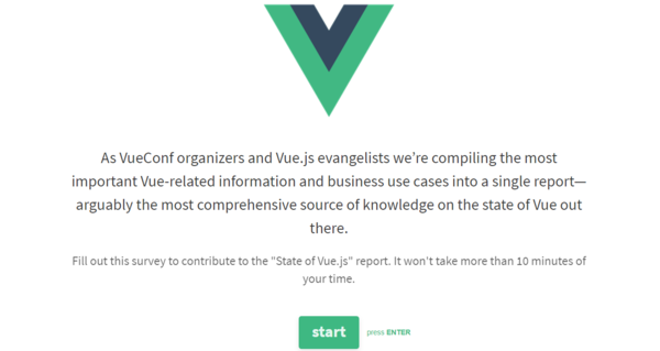 Vuejs feed issue 55 state of vuejs survey vuenyc meetup state of vuejs survey ccuart Gallery