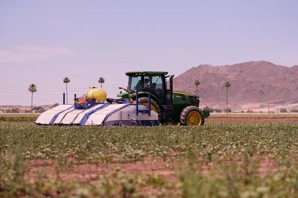 Could Robots Replace Farmworkers In Valley Fields? Silicon Valley Hopes So | Valley Public Radio