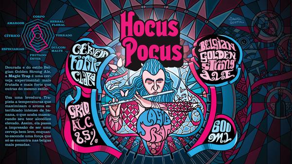 os rotulos da Hocus Pocus são muito do mal 🤘