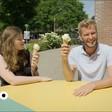 Zangeres Linde Schöne bij Tims ^ Tent met Tim den Besten - YouTube