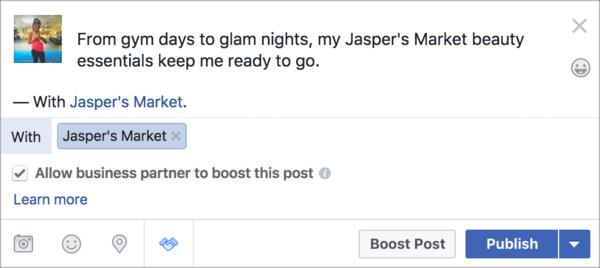 Amplify Creator Post on FB