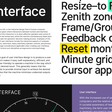 Interface font family