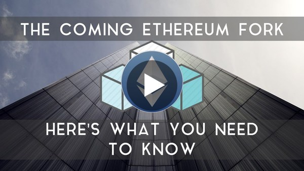 ETHEREUM FORK | Here's what you need to know - YouTube