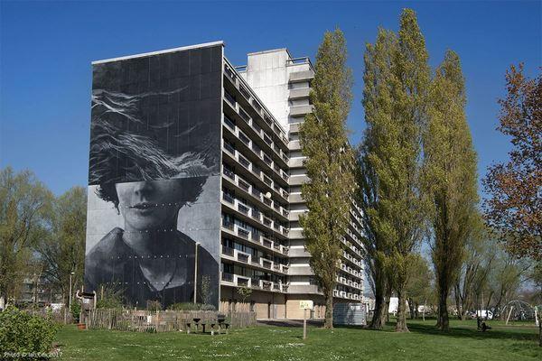 Een werk van Ricky Lee Gordon in Oostende