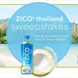 ZICO® Thailand Sweepstakes