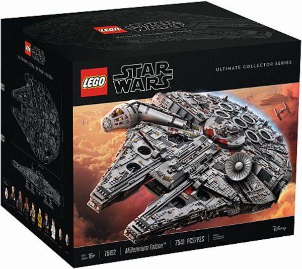 Sběratelská Lego stavebnice Millennium Falcon