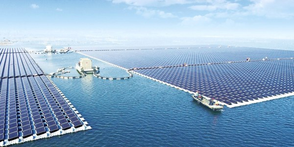 World's Biggest Floating Solar Farm Goes Live on Top of a Former Coal Mine