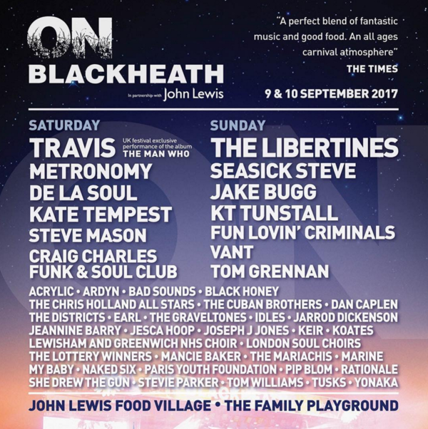 A cool festival this saturday!