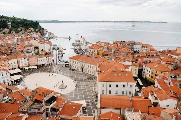 De haven van Piran