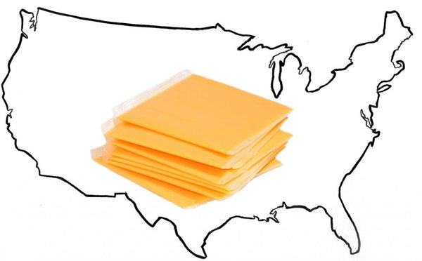 """@WholeFoods For reference, here's how we see the map of American 'Cheeses'."" -@Le_PAH"